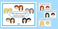 Search for Primary Resources, teaching resources, activities Different Hair Colors, New Hair Colors, Primary Resources, Teaching Resources, Irish Language, Poster Colour, Interactive Activities, Eyfs, Lesson Plans