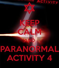 Paranormal Activities Movies <3