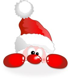 Funny Santa - Free , Clip art by cyberscooty and more and are constantly expanding our content with exclusive files. Christmas Window Decorations, Christmas Ornament Crafts, Christmas Clipart, Christmas Pictures, Christmas Projects, Christmas Crafts, Christmas Drawing, Christmas Paintings, Christmas Rock