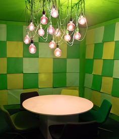 I wouldn't mind a kind of funky, creative conference room or two.