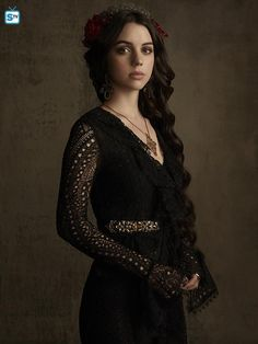 "Reign S3 Adelaide Kane as ""Queen Mary Stuart"""
