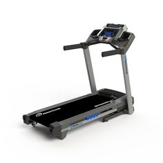 This Nautilus T614 Treadmill is loaded with extra features, and has multiple workout options with speed settings up to 12 MPH, incline adjustments up to 12% and a choice of 22 programs.