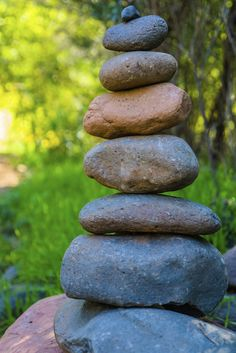 Creating rock cairns in the garden is a great way to add something different to the landscape. Using cairns in gardens can provide a site for reflection, as the contrasting colors and shapes of the stones create a calming, peaceful feeling. Learn more here.