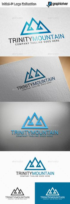 Trinity Mountain  Logo Design Template Vector #logotype Download it here: http://graphicriver.net/item/trinity-mountain-logo/11358721?s_rank=888?ref=nesto