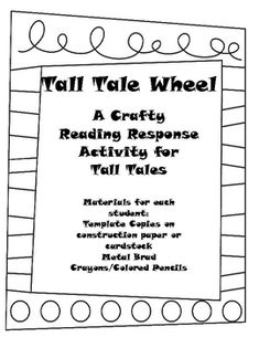 Free TpT for Tall Tales