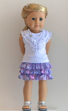 18 Inch Doll American Girl Doll Clothing Knit by Simply18Inches