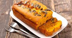 Recette de Cake salé léger à la courge butternut, jambon et noix. Facile et rapide à réaliser, goûteuse et diététique.