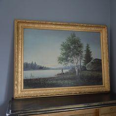 Tavla - Gottfrid Olsson Painting, Vintage, Home Decor, Art, Art Background, Decoration Home, Room Decor, Painting Art, Kunst