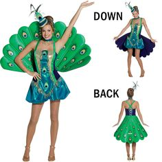 Peacock Costume Pattern