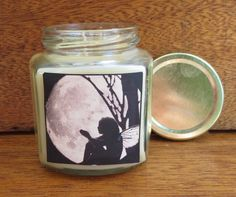 CANDLE IN A JAR/ Fairy Moongazing/ Lavender or by ShayCandles, $18.00