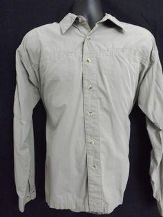 Men's Columbia Sportsman's Shirt Button Front Size Large #Columbia #ButtonFront