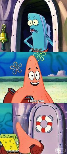 Flatter the customer. MY FRICKEN FAVORITE. i replay this over and over. patrick's face kills me every time!