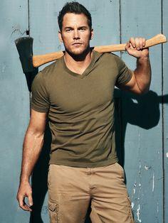 So many hot Chris Pratt pictures...