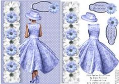 Blue Dasies Card Front