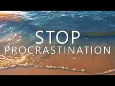 Hypnosis to Stop Procrastination (Overcome Anxiety, Perfectionism & Stop Procrastinating) - YouTube