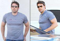 Ben Affleck Bulks Up For Batman, Shows Off Bulging Muscles in Tight T-Shirt