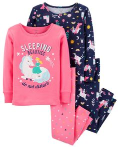 Newborn baby Pajamas keep your little one homely for proper rest and bedtime snuggles! Get your beloved form, like footie pajamas and comfortable pajama units. Baby Girl Pajamas, Toddler Pajamas, Cute Pajamas, Carters Baby Girl, Girls Pajamas, Baby & Toddler Clothing, Toddler Outfits, Baby Boy Outfits, Toddler Girls