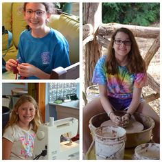 Our campers are SO creative! What is your favorite arts activity at #campgreystone?