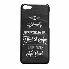 Harry Potter Quote I Solemnly Swear iPhone 5c Case