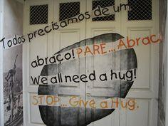 Projecto artE pORtas abErtas, Open Doors project, painted doors, Funchal, Madeira, Portugal. by Jose Romeu, via Flickr