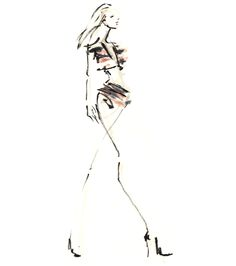 Fashion Sketch // Danielle Meder