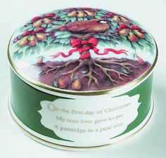 Partridge In A Pear Tree -  in the Twelve Days Of Christmas pattern by Wedgwood China