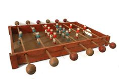 Lovely French Vintage Mini wooden Baby Foot game. by MonsieurLouis, €71.00