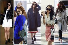13 Stylish Photos of Park Shin Hye's Chic Airport Fashion