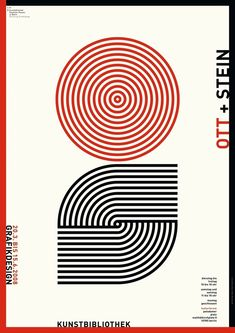 Ott + Stein Grafikdesign | 100 Beste Plakate e. V.