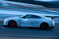 GT-R on the Race track