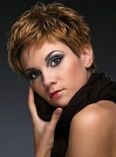 Short Spiky Haircuts for Women in Their 50s | very short hairstyles 2013