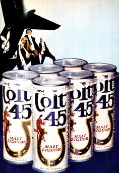 Colt 45 Beer ad, Jet, May 18, 1972