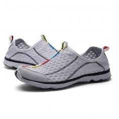 Gray Mesh Rivers Shoes
