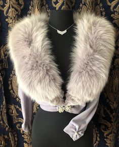 "Miss V on Instagram: ""( sold- Thank You💕) SPECTACULAR!! Tres Chic!! Rare Luxurious Dove gray with a hint of Lavender vintage 1950's cashmere cardigan The…"" Cashmere Cardigan, Vintage Sweaters, Pin Up, Fur Coat, Photo And Video, Chic, Lavender, Jackets, Gray"