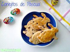 El rincón de las cosas bonitas: Conejitos de Pascua. Pinchar para leer la receta. #Easter #Bunny #Sweet