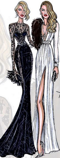 Candice Swanepoel & Rosie Huntington-Whiteley by Hayden Williams