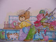 Komm zurück, ich vermisse dich...  Bärenkarten  von Christl Vogl