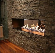 Montreal bio ethanol fireplace by decoflame®, designed to give absolute safety even in a stud wall. It is our most popular fireplace, created to slot into your wall opening without any need for a chimney or flue. Biofuel Fireplace, Vented Gas Fireplace, Bioethanol Fireplace, Double Sided Fireplace, Electric Fireplace, Bedroom Fireplace, Home Fireplace, Living Room With Fireplace, Fireplace Design