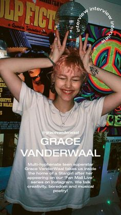 At Home With Grace VanderWaal - Notion Grace Vanderwaal, How To Be Graceful, My Little Baby, Star Girl, What Inspires You, What's Cooking, Celebs, Celebrities, Amazing Grace