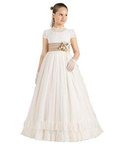 Flower Girl Dress Child Pageant Dresses Puffy First Communion Dress