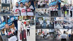 Fotografie Kathleen Rits ging mee met het promoteam voor de lancering van de opening van de nieuwe winkel Minelli in Antwerpen. Alle winkelende mensen konden plaats nemen in een cyclotax en werden rechtstreeks naar de winkel gebracht  Neem zeker ook een kijkje op de website: www.fotografiekathleenrits.com