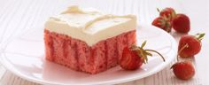 Best Strawberry Cake Ever.