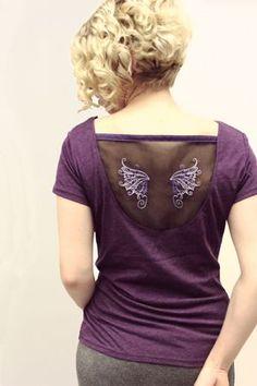 Ideas DIY para customizar camisetas con el mundo de las hadas