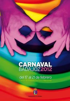 Cartel Carnaval Badajoz Año 2012 Layout, Carnivals, Spain, Posters, Graphics, Storage, Design, Event Posters, Photos