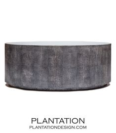Plantation-Hilson Oval Coffee Table | Grey-comes in different colors