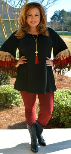 Perfectly Priscilla Boutique - Indian Outlaw Tunic, $41.00 (http://www.perfectlypriscilla.com/indian-outlaw-tunic/)