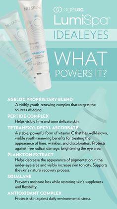 Skin Firming Lotion, Nu Skin Ageloc, Under Eye Bags, Puffy Eyes, Spot Treatment, Eye Cream, Skin Care Tips, Skin Tips, Healthy Skin