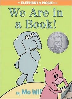 Elephant & Piggie books by Mo Willems.