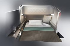 BMW designworksUSA: singapore airlines first class design