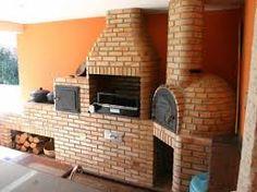 Resultado de imagem para varanda gourmet casa com fogão a lenha
